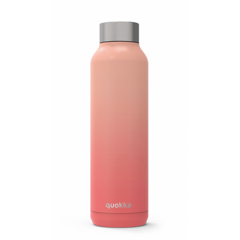 Quokka Stainless Steel Bottle Solid Series 630ml - Peach