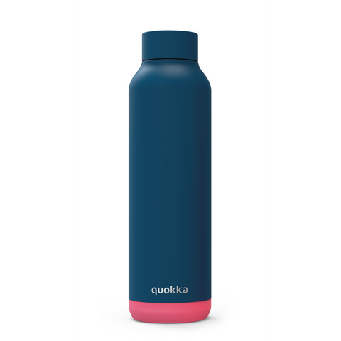Quokka Stainless Steel Bottle Solid Series 630ml - Pink Vibe
