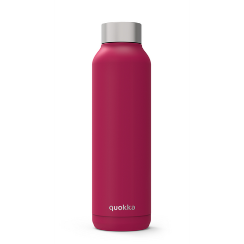 Quokka Stainless Steel Bottle Solid Series 630ml - Rosewood