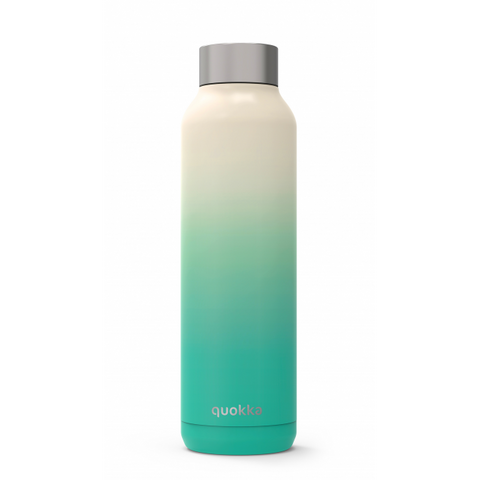 Quokka Stainless Steel Bottle Solid Series 630ml - Sea Shore