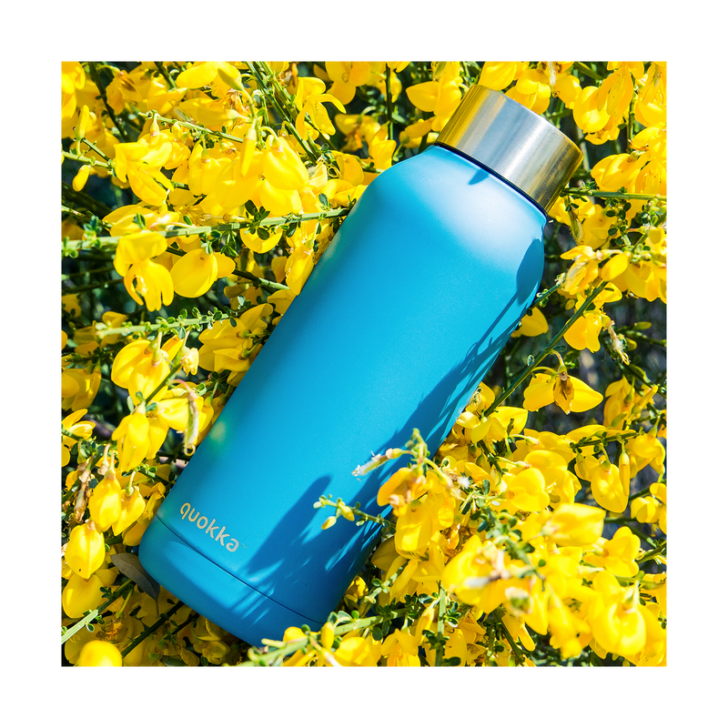 Quokka Stainless Steel Bottle Solid Series 510ml - Blue - Oribags.com