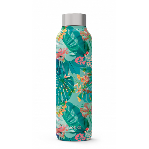 Quokka Stainless Steel Bottle Solid Series 630ml - Tropical