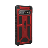 (Clearance) UAG Monarch Series Galaxy S10 Case - Crimson