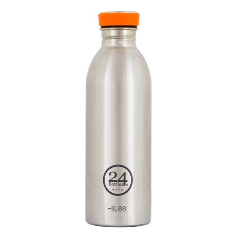 24 Bottles Urban Bottle 0.5L – Steel