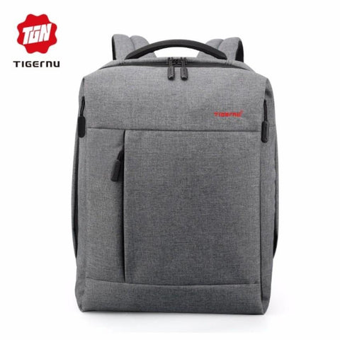"Tigernu Anti-Theft 15.6"" Laptop Backpack 3269A - Grey"