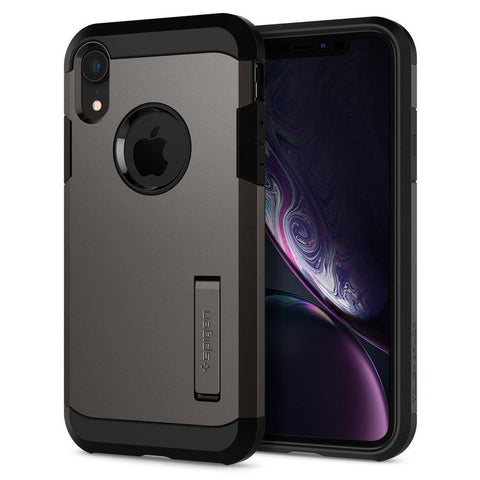 Spigen iPhone XR Case Tough Armor - Gunmetal