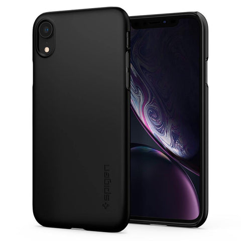 (Clearance) Spigen iPhone XR Case Thin Fit - Black