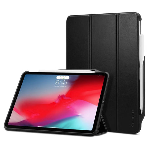 "(Clearance) Spigen iPad Pro 11"" (2018) Case Smart Fold 2 - Black"
