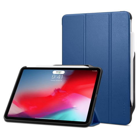 "(Clearance) Spigen iPad Pro 11"" (2018) Case Smart Fold 2 - Blue"