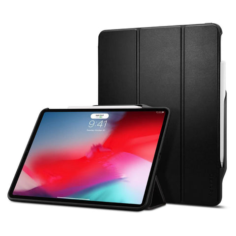 "(Clearance) Spigen iPad Pro 12.9"" (2018) Case Smart Fold 2 - Black"