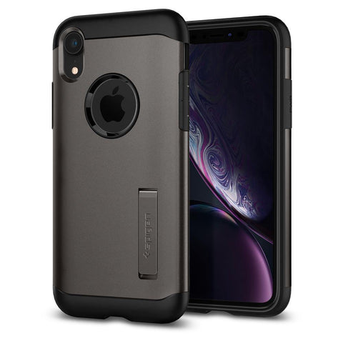 (Clearance) Spigen iPhone XR Case Slim Armor - Gunmetal