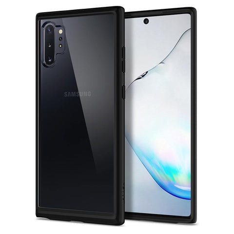 Spigen Galaxy Note 10 Plus / 10 Plus 5G Case Ultra Hybrid - Matte Black