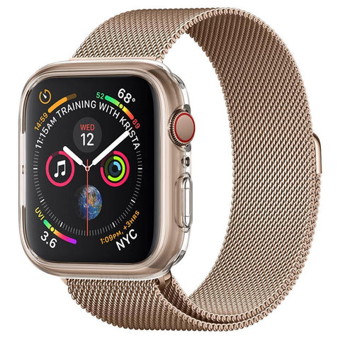 Spigen Apple Watch Series 4 (44mm) Case Liquid Crystal Protector Case - Crystal Clear