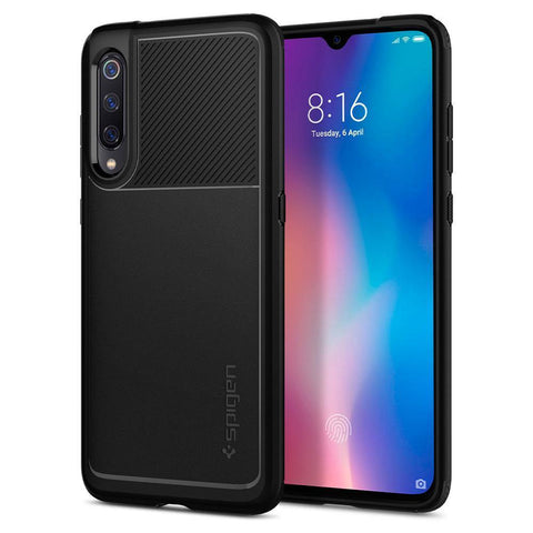 Spigen Xiaomi Mi 9 Case Rugged Armor - Black