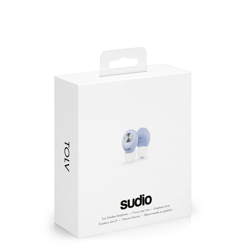 Sudio Tolv True Wireless Earbuds Ultra Light - Blue - Oribags.com