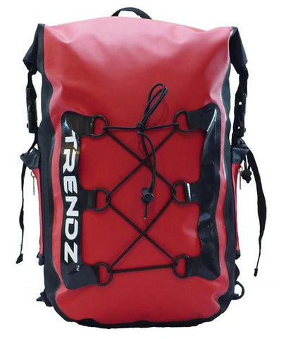 Trendz 28L Waterproof Backpack Xtreme - Red - oribags2 - 1
