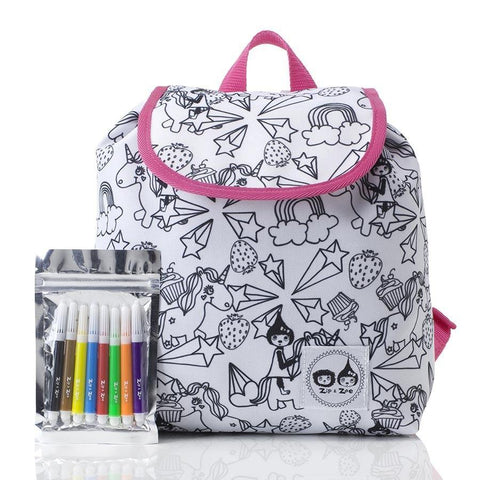Babymel Colour and Wash Backpack - Unicorn
