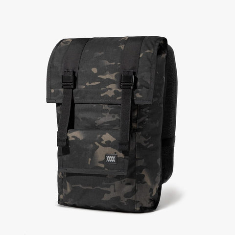 Mission Workshop The Fitzroy 40L Pack w/ Advanced Camo Textile - Black Camo