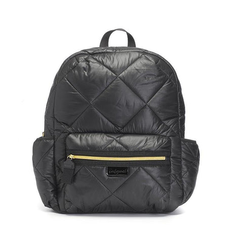 Babymel Luna Ultra-Lite Diaper Backpack - Black Quilt