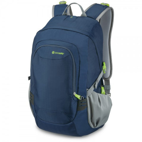 Pacsafe Venturesafe 25L GII Anti-Theft Travel Pack - Navy Blue - oribags2 - 1