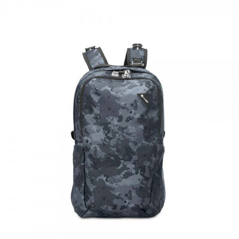 Pacsafe Vibe 25 Anti-Theft Backpack - Grey Camo - oribags2 - 1