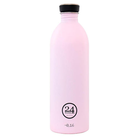 24 Bottles Urban Water Bottle 1L - Candy Pink