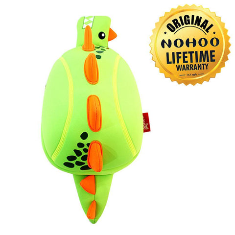 Nohoo Kids Sling Bag Dino Design - Green