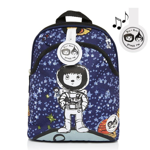 Babymel Mini Backpack & Safety Harness / Reins Age 1-4 Years - Spaceman