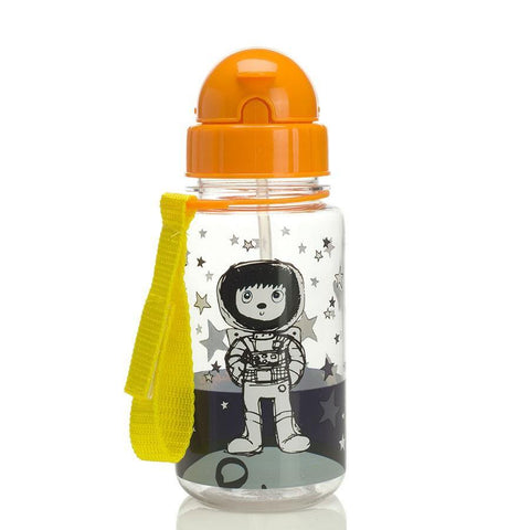Babymel Drinking Bottle with Straw - Zip & Zoe Spaceman