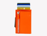 OGON Cascade Zipper Wallet RFID Safe - Full Orange
