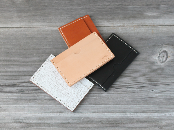 Stacked Card Case  |  Black