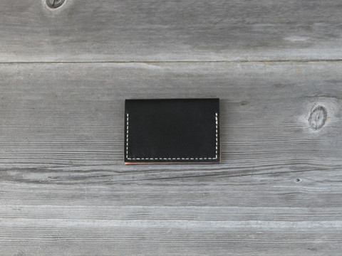 Folded Card Case  |  Black