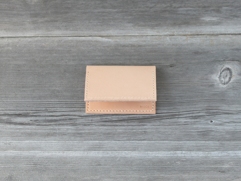 Folded Card Case  |  Nude