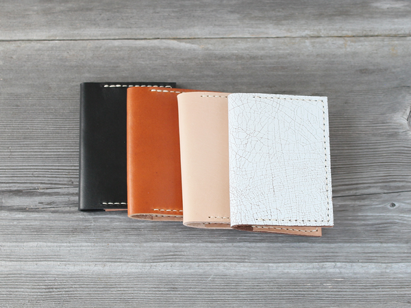 Folded Card Case  |  Caramel