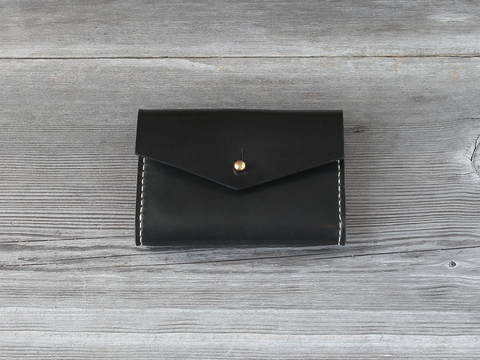 Short Wallet  |  Black
