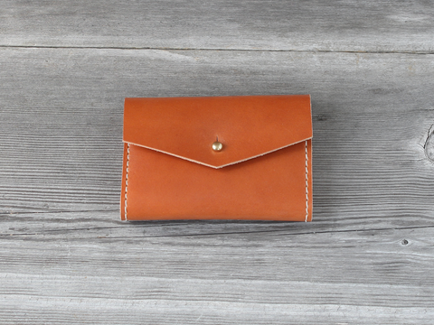 Short Wallet  |  Caramel
