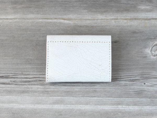 Short Wallet  |  White