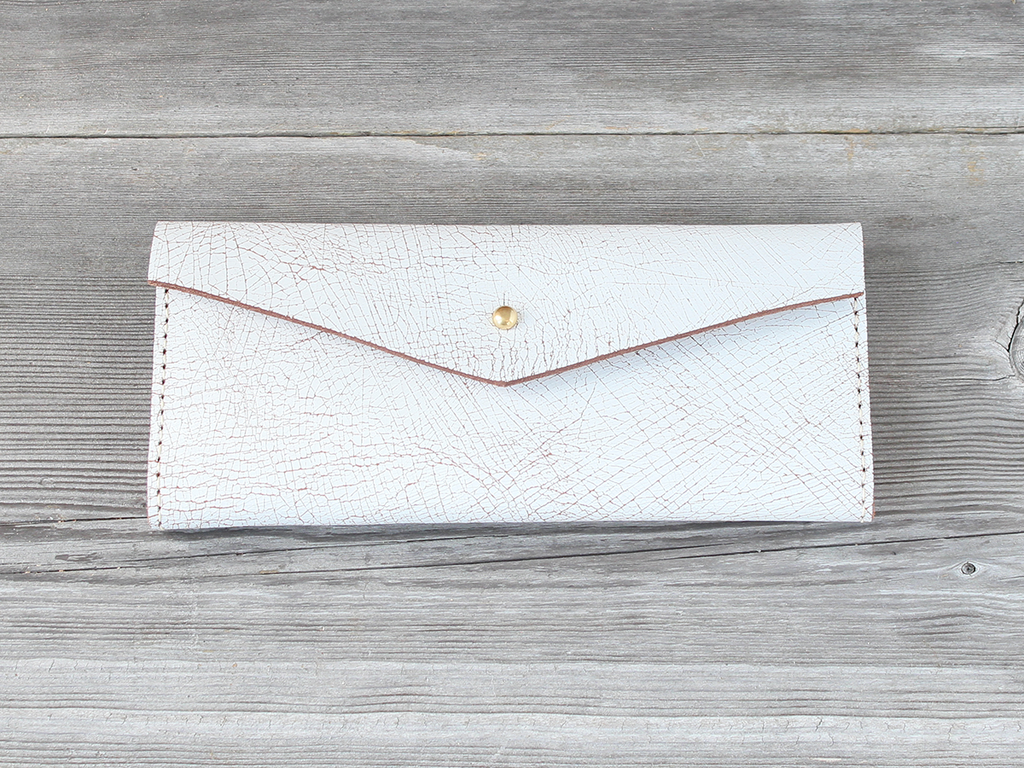 Long Wallet  |  White