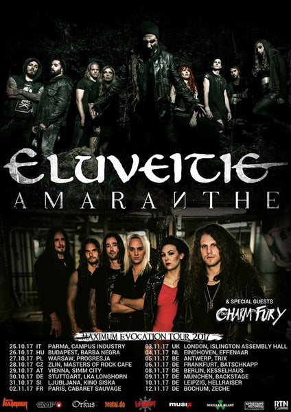 ELUVEITIE TOUR / SIC TRUTH / TOURPHOTOGRAPHY