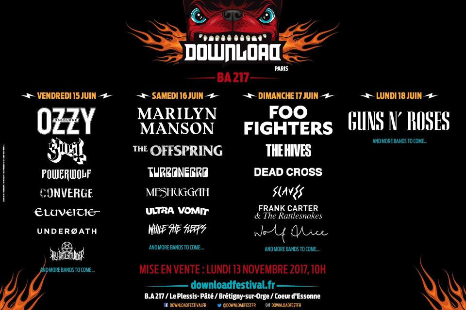 DOWNLOAD FESTIVAL SUMMER 2018 / ELUVEITIE