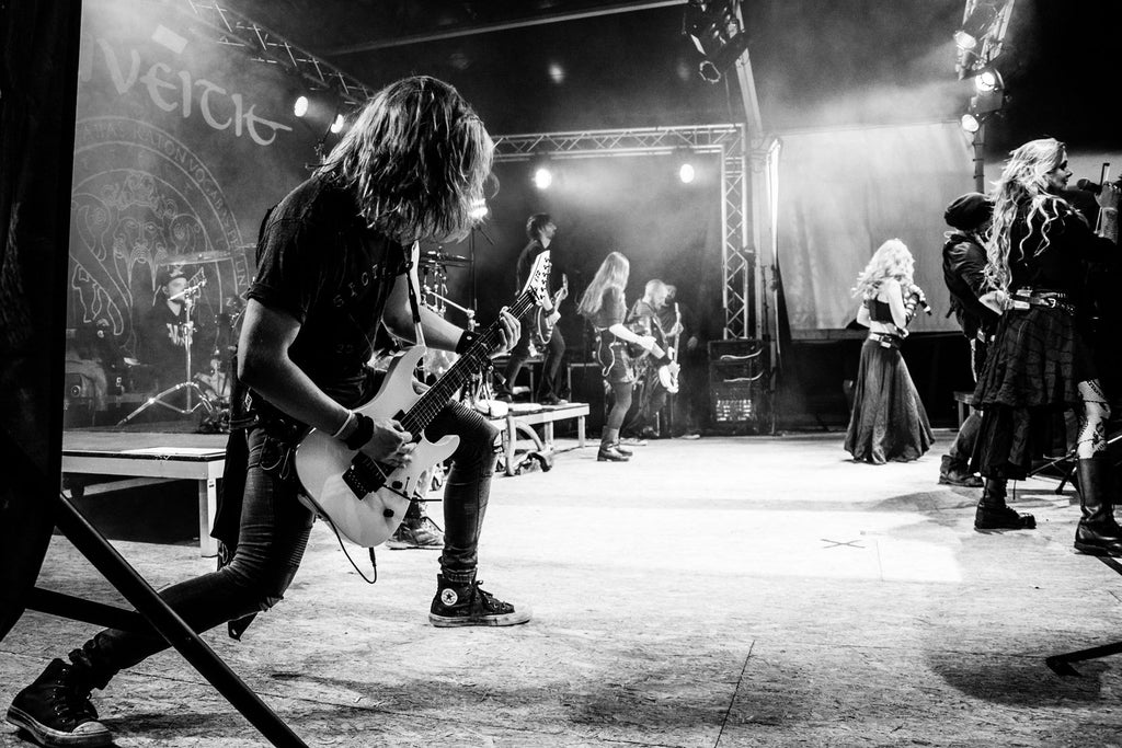 ELUVEITIE LIVE / PHOTOS SIC TRUTH ART