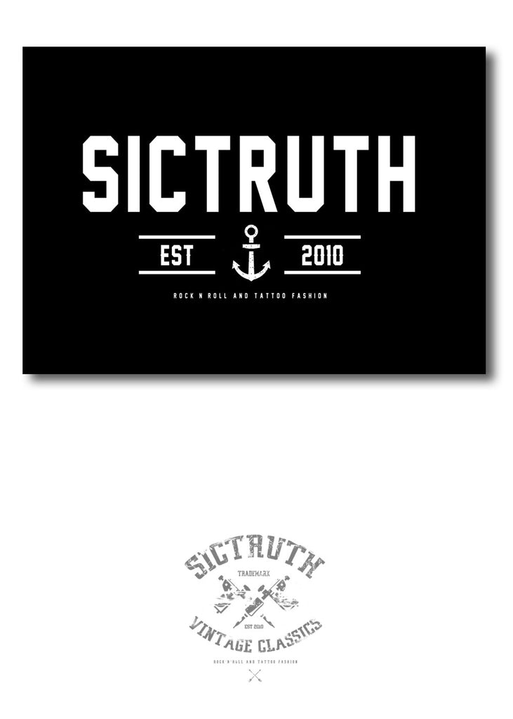Sic Truth Sailor Sticker - SIC TRUTH CLOTHING