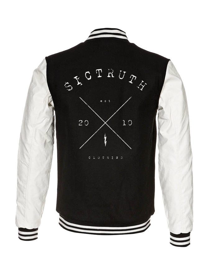 Sic Truth Oldskool College Jacket - SIC TRUTH CLOTHING