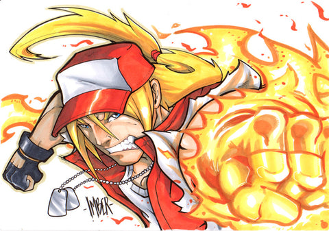 Terry Bogard Fatal Fury Original