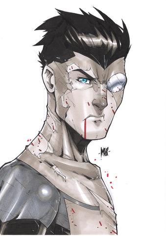 Invincible Greyscale Original