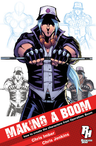 Making a Boom: How to create the characters from Operation: Boom