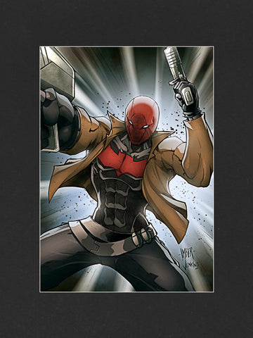 Red Hood (2014) Mounted Print