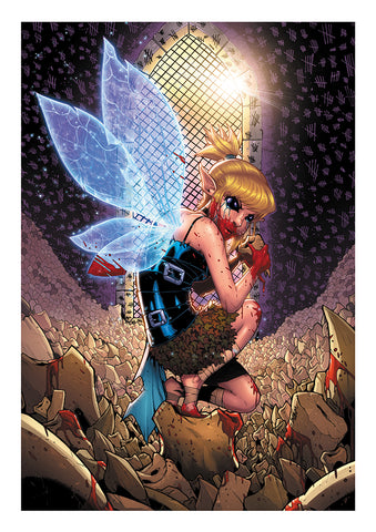Tooth Fairy (Fantasy Asylum Series) A3 Print