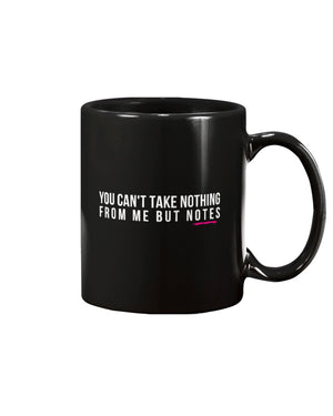 Nothing But Notes 15oz Mug - Black