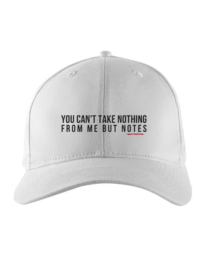 Nothing But Notes Snapback Trucker Cap